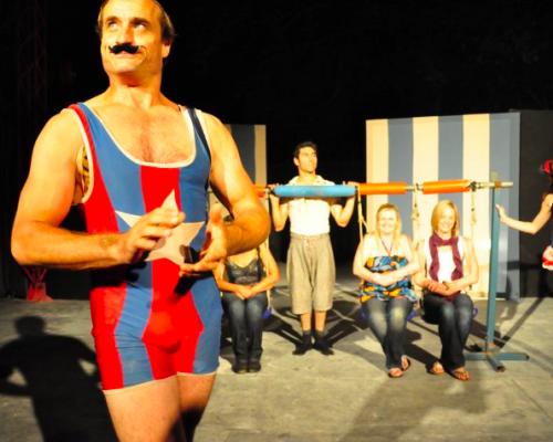 Circus Trick Tease